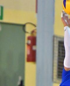 """durante «Integra Conad Tantucci Foligno - Sir Safety Mericat Perugia» 3ª giornata Campionato italiano di Pallavolo Maschile Serie B presso Palestra Comunale """"Fausto Ciccioli"""" Foligno IT, 28 ottobre 2017. Foto: Michele Benda [riferimento file: 2017-10-28/ND5_3287]"""