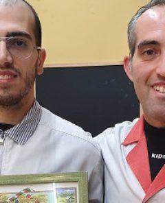 ok - Premio_Pesche_Forno Cesarini - da sinistra verso destra Gabriele e Valerio Cesarini - Copia