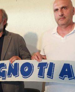 IMMAGINI FOLIGNIO CALCIO ALLENATORE ARMILLEI E TOFI